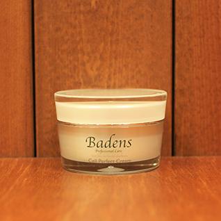 バーデンス パーフェクトクリーム30gバーデンスの特長成分をたっぷりでツヤツヤになる保湿用クリーム。セラミドポリマー(保護)レシチンポリマー(保湿)に加え、健やかな素肌に欠かせないセラミド3(保湿)を配合。優れた浸透力で肌の内側から潤いを補充して乾燥を防ぎ、シワやタルミに働きかけます。
