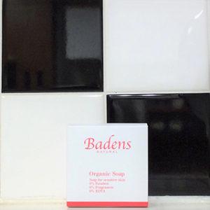 Badens NATURAL Organic Soap 100g